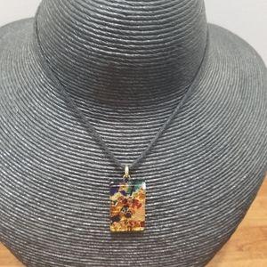 Murano Italy Necklace Beautiful choker style